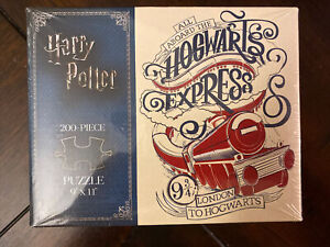 Harry Potter Puzzle 9x11 200 Piece Hogwarts Express