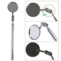 1Pc 50mm Car Telescopic Detection Lens Inspection Round Mirror 360°Repair Too ZT