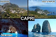 SOUVENIR FRIDGE MAGNET of CAPRI ITALY