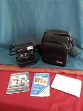 Polaroid One Step Flash Camera w/ Strap and Original paperwork AND Travel BAG!