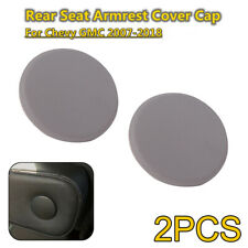 2x Armrest Cap Cover Fits 07-18 Chevy GM Left&Right Rear Seat Handle Trim Gray