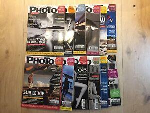 Lot de 12 magazines 'Réponses Photo' 2013 - Très bon état