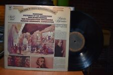 Ormandy Philadelphia Mussorsgky Pictures at an Exhibition LP Columbia M 31826 ST