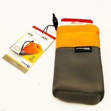 Official Protective Soft Cases(ORANGE) For Nintendo 3DS/DSi XL/DSi/DSLite