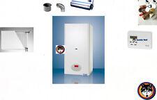 Kombitherme Gastherme 10 - 23 kW CLN Wasser+Heizung Komplettset Propangas