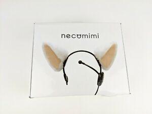 Necomimi BRAINWAVE Emotion Controlled CAT EARS Headband Cosplay Complete w Box +