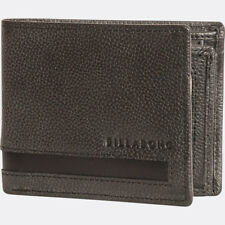 BILLABONG MENS WALLET.EMPIRE REAL LEATHER GREY SNAP NOTE/COIN PURSE 7W W02 2061