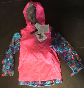 brand new rojo girls snow jacket 12 yrs RRP 129.00