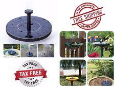 Water Pump Solar Power Panel Kit Garden Pond Fountain Outdoor Patio Small Pumps