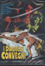 DVD i Diabólicos Convegni Limited Edition Numerata Nuevo Sellado 1971