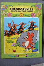 BD chlorophylle série verte 3 contre les rats noirs réédition 1984 TBE macherot