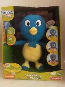 NEW Fisher Price 2007  Backyardigans 3in1 Adventure Singer PABLO Blue Penguin B9