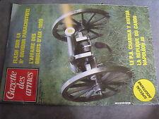 $p Revue Gazette des armes N°128 IIe division parachutiste  PA Charola Y Anitua