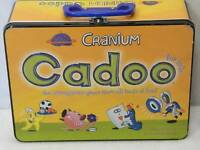 Cranium For Kids Tin Lunchbox Cadoo Board Game Complete