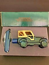 Avon Trailblazer cologne Jeep decanter set with multi function knife. Pre-owned