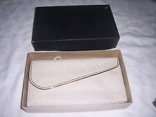 Vintage Boxed Australian Duomesh Evening Ladies Clutch Handbag & Strap
