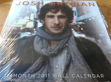 Josh Groban - Calendar - 2011 Fan Club Only. Brand New,S/S