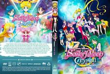 DVD Anime Sailor Moon Crystal Season 1 + 2 Episode 1-26 End Eng Dub Sailormoon