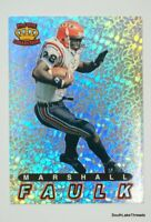 Marshall Faulk Pacific Collection 1994 Prizm Rookie SP RC Colts Original Prizm