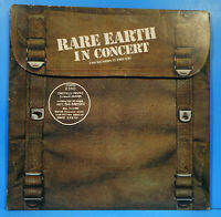 RARE EARTH IN CONCERT 2X LP 1971 ORIGINAL PRESS POSTER GREAT CONDITION VG+/VG+!!
