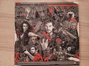 Tyler Stout - Guardians of the Galaxy OST LP - Star Lord Handbill - Mondo