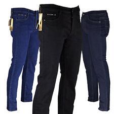Herren Hose Jeans Slim Fit Regular Stretch Jeanshose Übergröße Hosen Six-Jeans