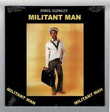 ERROL DUNKLEY-militant man   roots disco LP  reggae   (new & sealed)