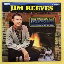 Jim Reeves - Chansons à chaud the Heart - RCA cds-1099 EX+ état Vinyle LP