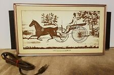 Vintage JASCO Electric Warming Tray Horse Buggy CURRIER ~ THE ROAD-SUMMER