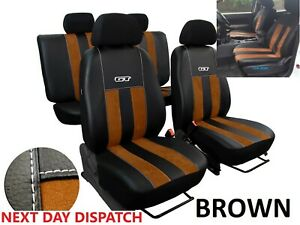 FORD RANGER WILDTRAK 2015-2021 ART. LEATHER &ALICANTE TAILORED SEAT COVERS