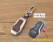 Metal Key Shell Fob Bag Case Ring Cover For Ford Taurus Explorer F150 2016 2017