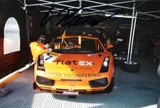 Christopher Haase (FIA GT) SIGNED Lamborghini Gallardo photo