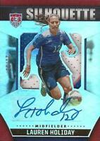 2015 Panini USA Soccer Materials - USMNT & USWNT - 'Silhouette Prime Signatures'
