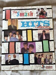 Smash Hits 1984 : Vintage Panini Sticker Album : 100% Complete : Very rare