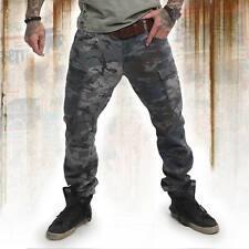 Neue Yakuza Herren Harlekin Cargo Pants - Bunt