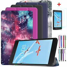 "Smart Leather Case Cover For Lenovo Tab M7/ E8/ E10/ M10/ P10 7"" 8"" 10.1"" Tablet"