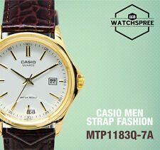 Casio Strap Fashion Men's Watch MTP1183Q-7A