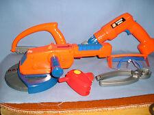 TC-89 - Home Depot Sander/grinder,  Drill, Saw & Safety Glasses Plus Pliers