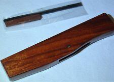 "New Shungee Rosewood Bull Nose Radius Plane 1/4"" Blade Wood Working Tool"
