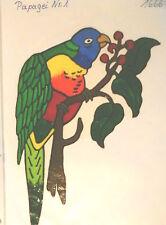 Window Color Fensterbilder Papagei Nr.1
