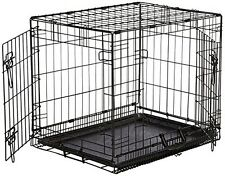 Prime Crate 24 Long Dog Crates 2 doors with removable Pan