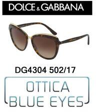 DOLCE E GABBANA SUNGLASSES WOMAN DG 4304 502/13 солнечные очки New Collection