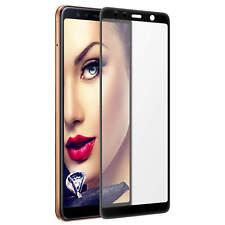 Schutzglas 3D Tempered Glass für Samsung Galaxy A7 2018 (A750 / 6.0'') - schwarz
