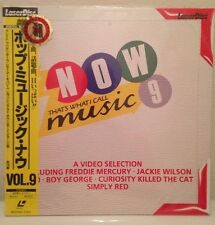 NOW That's What I Call Music 9 Laserdisc JAPAN LD  Rare Communards Housemartins