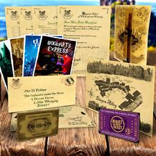 Personalisiert Harry Potter Geschenk Marodeure Karte Hogwarts Akzeptanz Brief