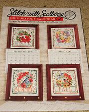 CROSS STITCH: Four Seasons Calendar Sudberry #71 Pattern
