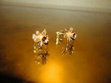 Clogau Gold Daffodil Earrings 9 Carat