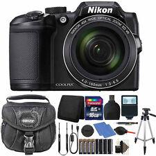 Nikon Coolpix B500 Camera 40X Optical Zoom 2 Batteries Deluxe Accessory Bundle