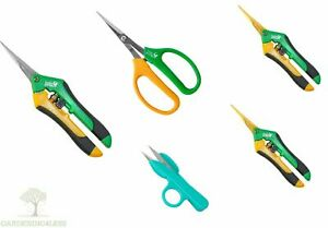 Precision Blade Pruners Shears Garden Secateurs Plant Trimmers Rose Herbs