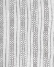 Antique 1900 Tan & Black Stripe Shirting Fabric